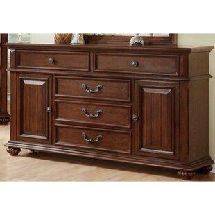 Compton 5 Drawer Combo Dresser