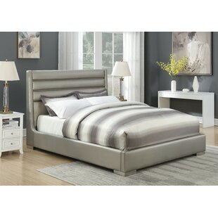Alexei Upholstered Panel Bed