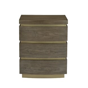 Profile 3 Drawer Nightstand by Bernhardt