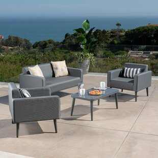 Palos 4 Piece Conversation Set