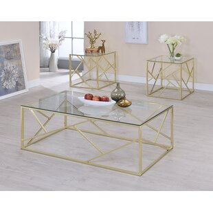 Strudwick 3 Piece Coffee Table Set