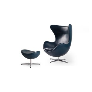 Online Reviews Deniela Swivel Balloon Chair and Ottoman by Orren Ellis Reviews (2019) & Buyer's Guide