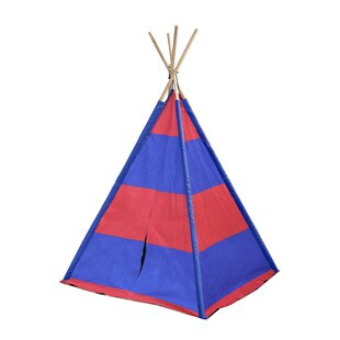 Compare & Buy Stripes Kid Play Teepee with Carrying Bag By Heritage Kids