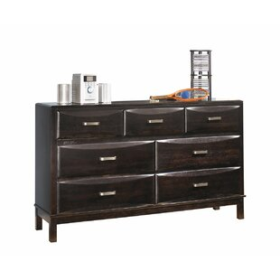 Ronda 7 Drawer Double Dresser