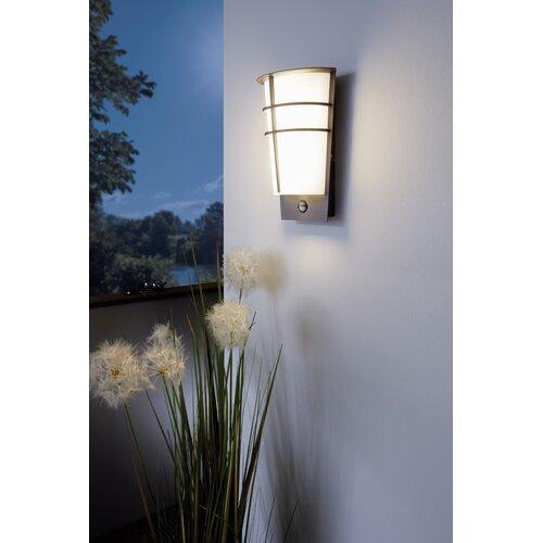 LED-Außenwandleuchter 2-flammig Breganzo mit Bewegungssensor   Lampen > Aussenlampen   Eglo