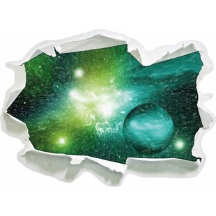 Stardust And Gas Nebula In A Distant Galaxy Wall Sticker By East Urban Home