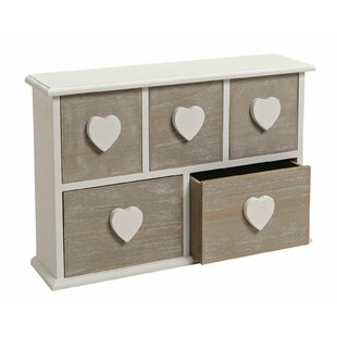 Boivin 5 Drawers Chest By Brambly Cottage