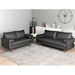 Sumner 2 Piece Living Room Set by 17 Stories