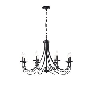 Gracie Oaks Shim 8-Light Candle Style Chandelier