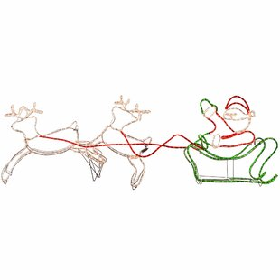 Double Reindeer Rope Light By The Seasonal Aisle