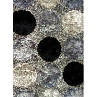 Reviews Circe Black Area Rug ByHarriet Bee