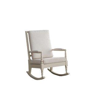 Bungalow Rose Madonna Rocking Chair