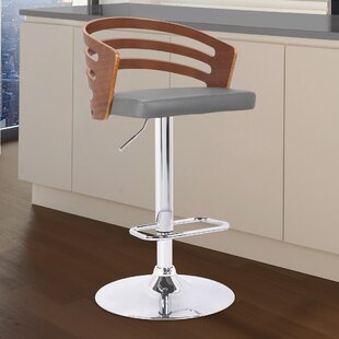 Coupon Jaydin Adjustable Height Swivel Bar Stool by Orren Ellis Reviews (2019) & Buyer's Guide
