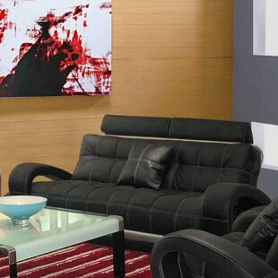 Top Reviews Arthur Leather Sofa by Hokku Designs Reviews (2019) & Buyer's Guide