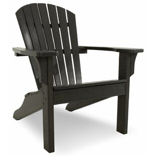 Shell Back Plastic Adirondack Chair By Ivy Terrace