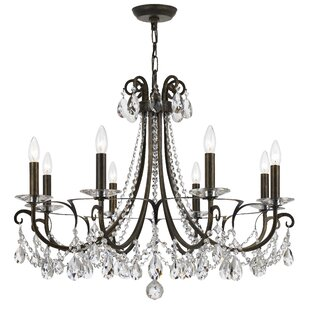 Roesler 8-Light Candle Style Chandelier