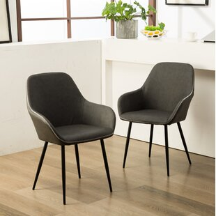 Lansdale Upholstered Dining Chair (Set of 2) by Williston Forge