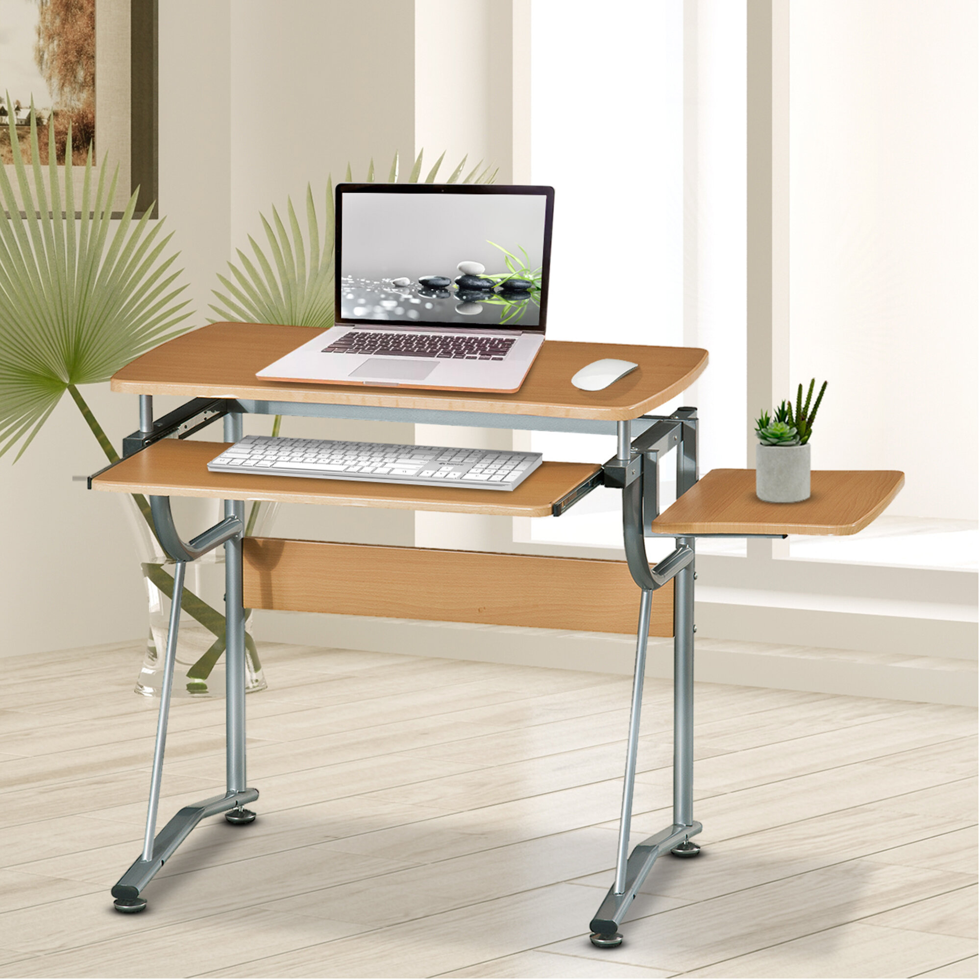 Winston Porter Mcglothin Compact Desk & Reviews | Wayfair