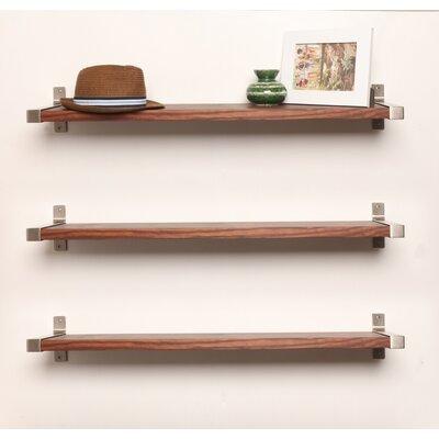 Alessio Wood Wall Shelf Gracie Oaks Size 125 H X 38 W 775