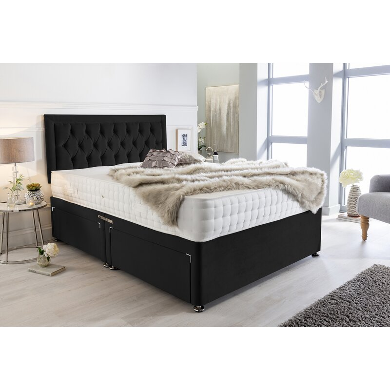 Mercer41 Mcmillian Divan Bed Wayfair Co Uk