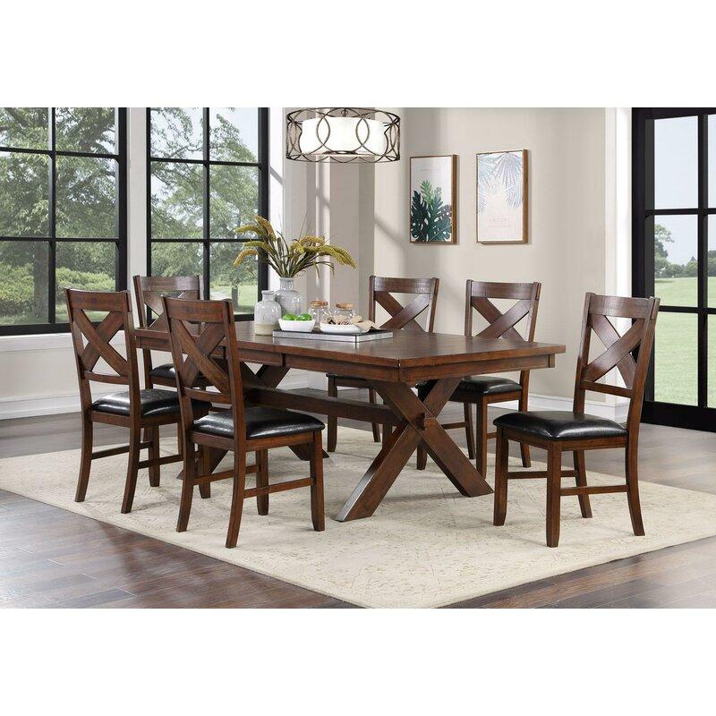 Rosalind Wheeler Sklar Extendable Dining Table Wayfair
