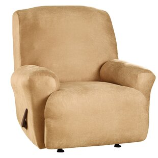 Stretch Leather T Cushion Recliner Slipcover