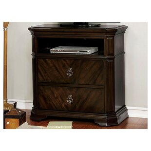 Compare prices Robert 2 Drawer Media Chest by Fleur De Lis Living
