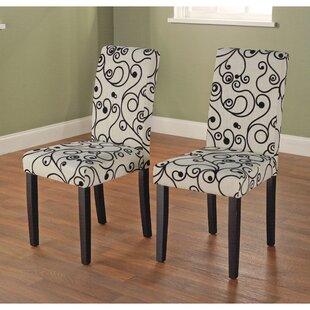 Latitude Run Neva Parson Chair (Set of 2)