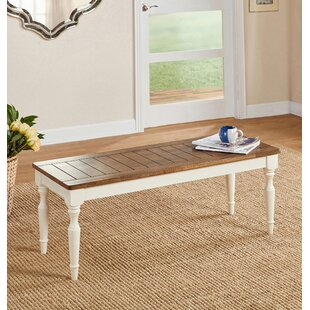 Ophelia & Co. Kirt Wood Bench