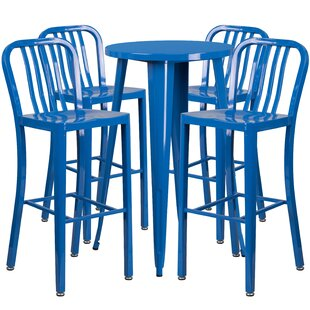 Latitude Run Cohutta 5 Piece Bar Height Dining Set