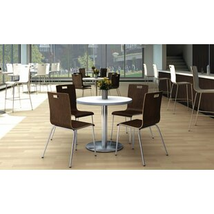 Jive Series Armless Stacking Chair by KFI Seating