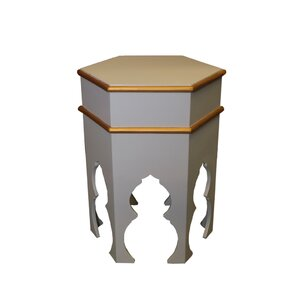 Taza Hand Painted Side Table