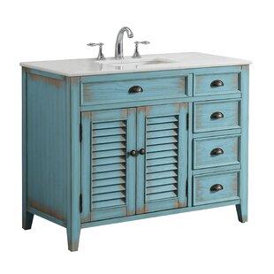 Foret 42 Single Bathroom Vanity Set by Lark Manor
