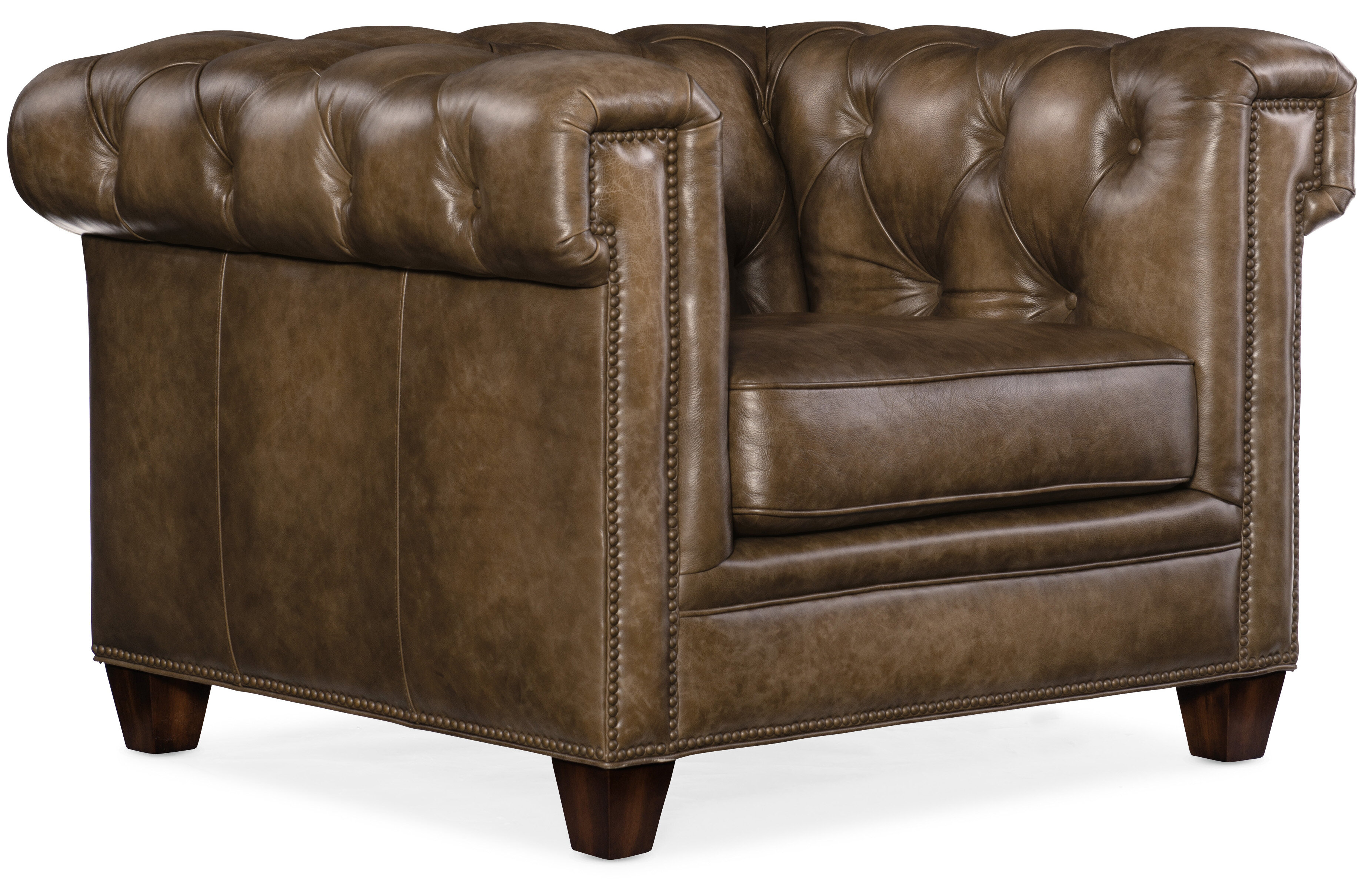 Hooker Furniture Chester 41 W Tufted Chesterfield Chair Wayfair
