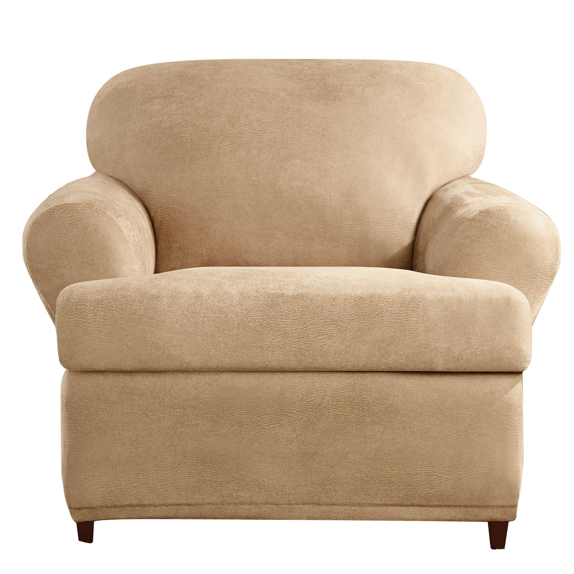 Sure fit t cushion armchair slipcover reviews wayfair