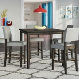 Terrazas 5 - Piece Counter Height Dining Set by Ebern Designs