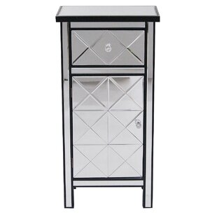 Dareau 1 Door Accent Cabinet by House of Hampton