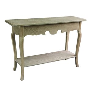 Jeco Inc. Antique Wood Console Table