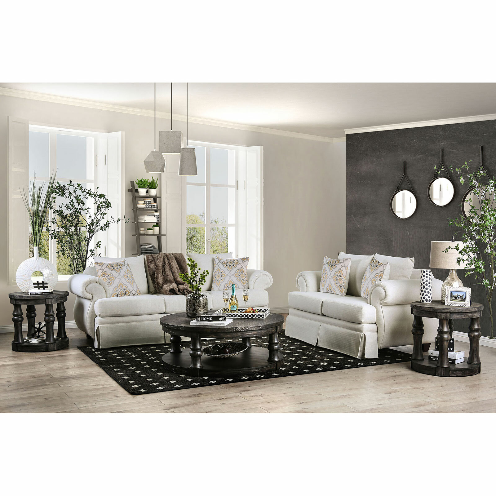Canora Grey Lisbon 3 Piece Coffee Table Set Wayfair
