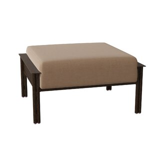 Jax Ottoman with Cushions by Woodard