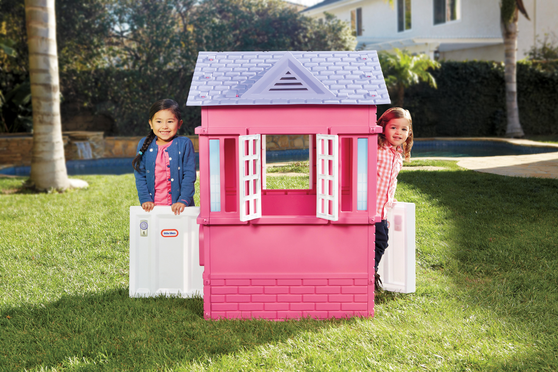 Cool Little Tikes Princess Cottage Playhouse Reviews Wayfair Download Free Architecture Designs Saprecsunscenecom