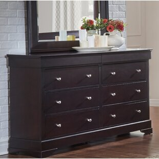 Alcott Hill Matheson 6 Drawer Double Dres..