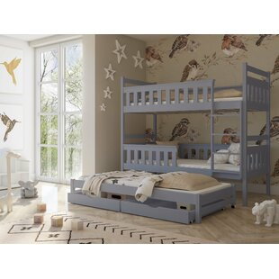 Seraphine Single (3') Bunk Bed With Trundle And Drawers By Harriet Bee