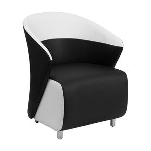 Wallis Leather Lounge Chair by Brayden Studio