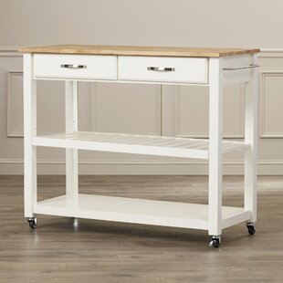 Top Seller Of Hedon Kitchen Cart By Three Posts