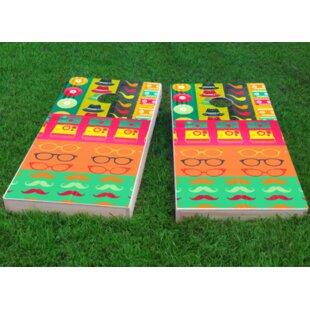 Custom Cornhole Boards Hipster Cornhole Game (Set of 2)
