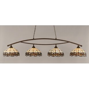 Astoria Grand Austinburg Contemporary 4-Light 150W Kitchen Island Pendant