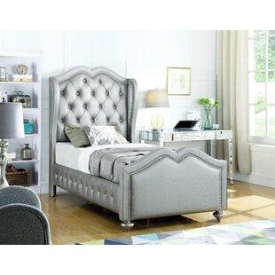 Rosdorf Park Rachelle Upholstered Panel Bed