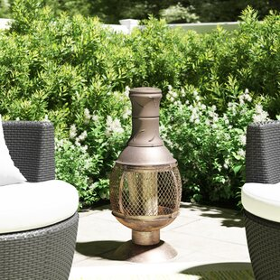 Opera Steel Chiminea By Gardeco