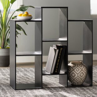 Rungata Staggered Geometric Bookcase